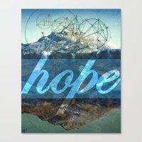 HOPE (1 Corinthians 13:13) Canvas Print