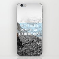 In The Valley Is Where W… iPhone & iPod Skin