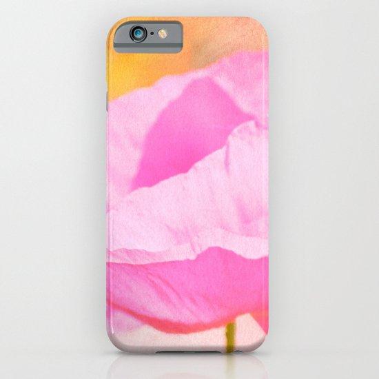 Pink Poppy Flower iPhone & iPod Case