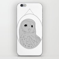 The wall of one conceited owl iPhone & iPod Skin