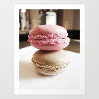Macarons de Versailles Art Print