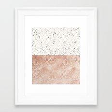 Mischievous Polka #society6 Framed Art Print
