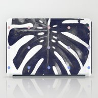 Monstera + Dots iPad Case