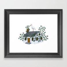 Home Birth Framed Art Print
