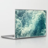 friends Laptop & iPad Skins featuring Water I by Dr. Lukas Brezak
