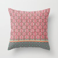 Native Patterns Throw Pillow