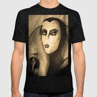 Evil Queen -snow White Mens Fitted Tee Tri-Black SMALL