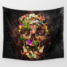 Animal Kingdom Sugar Skull iPhone 4 4s 5 5s 5c 6, ipod, ipad, pillow case and tshirt Wall Tapestry