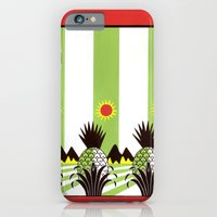 Pineapple Fields Forever iPhone 6 Slim Case