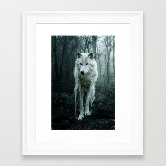 Wolf Framed Art Print