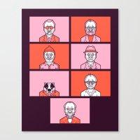 Bill x Wes Canvas Print