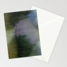 Green Blurry Landscape Stationery Cards