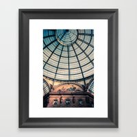 Faded Memories: Galleria Vittorio Emmanuel II, Milan Framed Art Print