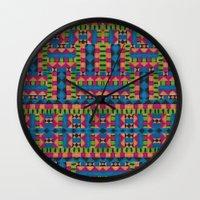 kiwi tribe Wall Clock