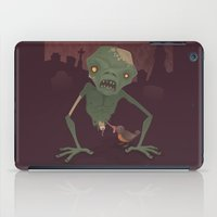 Sickly Zombie iPad Case