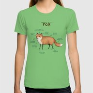 T-shirt featuring Anatomy Of A Fox by Sophie Corrigan