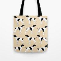 English Pointer Dog Art  Tote Bag