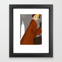 New York 1960 Framed Art Print