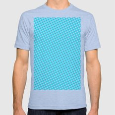 BLUE DOT Mens Fitted Tee Athletic Blue SMALL