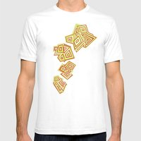 Evolving Mens Fitted Tee White SMALL