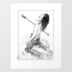 Apollonia Saintclair - 2… Art Print