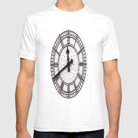 The Countdown Is On Mens Fitted Tee White SMALL