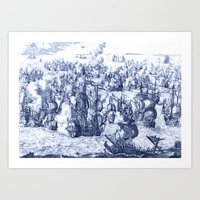 Naval Conquest Art Print