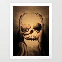 Dance Of Death Art Print