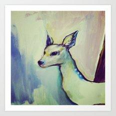 Deerlit Art Print
