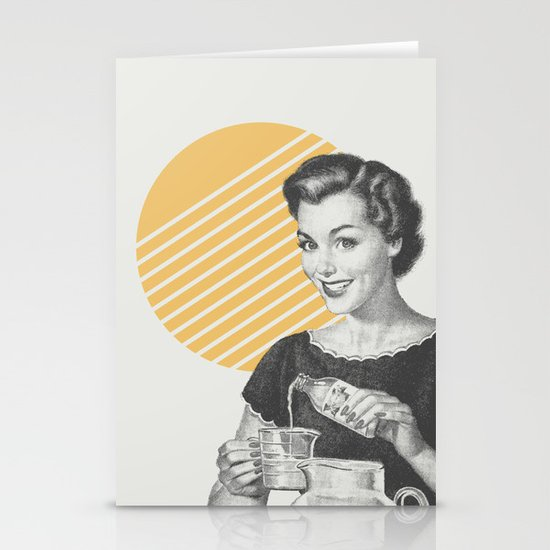 When Life Hands You Lemon Juice Concentrate -- Make Lemonade. Stationery Card