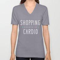Shopping Counts As Cardi… Unisex V-Neck