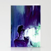 ... Like Tears In Rain..… Stationery Cards