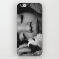 kitty love iPhone & iPod Skin