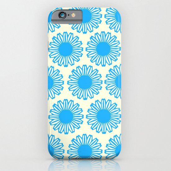 Vintage Flower_Turquoise iPhone & iPod Case