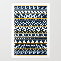 Tribal Pattern 2 Art Print