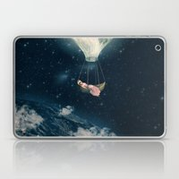 The Moon Carries Me Away Laptop & iPad Skin