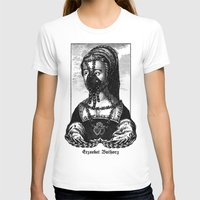 Erzsébet Báthory Womens Fitted Tee White SMALL