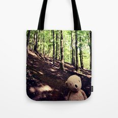If You Go Down To The Woods Today Tote Bag