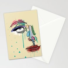 Blackout Night Stationery Cards