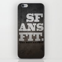 Black SFANSFIT The Best … iPhone & iPod Skin