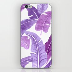 Purple Palms iPhone & iPod Skin