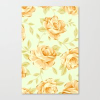 Canvas Print featuring VINTAGE ROSES by Ylenia Pizzetti