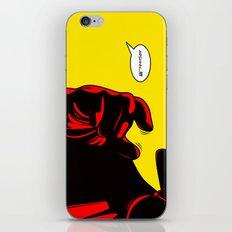 Choke iPhone & iPod Skin