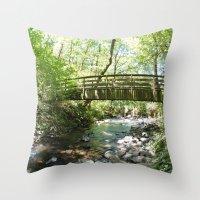 Bridal Veil Falls OR For… Throw Pillow