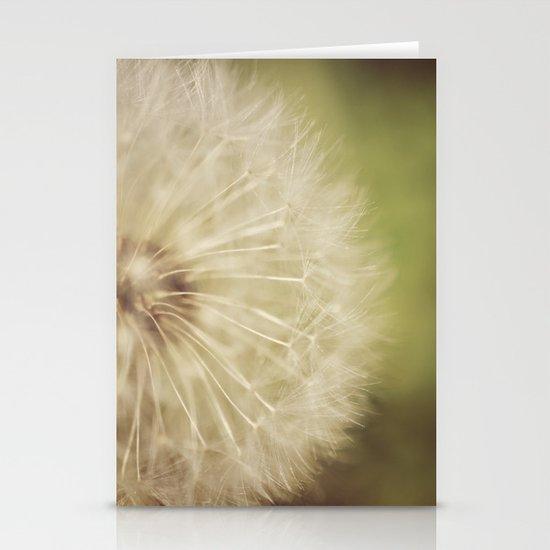 Dandelion Stationery Card