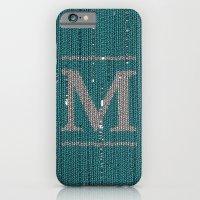 Winter Clothes. Letter M… iPhone 6 Slim Case