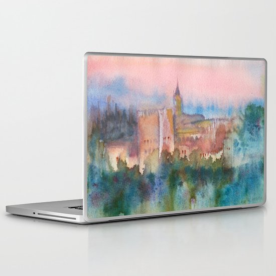 Alhambra de Granada Laptop & iPad Skin