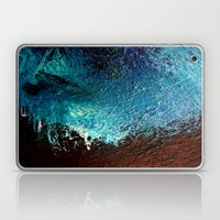 Abstract Blue, White And… Laptop & iPad Skin