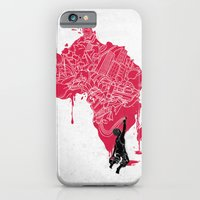 iPhone & iPod Case featuring RE | Draw AFRIKA by Anwar Rafiee