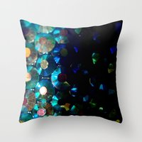 Sparkle X Fade Throw Pillow